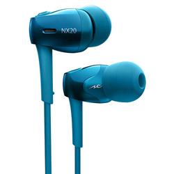 radius(ラディウス) bluetooth イヤホン カナル型 NeEXTRA Series ブルー HP-NX20BTB [リモコン・マイク対応 /ワイヤレス(左右コード) /Bluetooth] HPNX20BTB