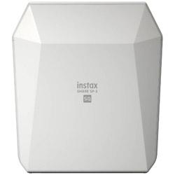 FUJIFILM(フジフイルム) 〔iOS/Androidアプリ〕 「スマホdeチェキ」 「instax SHARE SP-3」(ホワイト) INSTAXSHARESP3WHITE