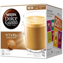 ネスレ日本 ネスカフェ ドルチェグスト専用カプセル カフェオレ いつでも送料無料 16P 新作からSALEアイテム等お得な商品満載 CAL16001