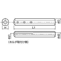 KYOCERA(京セラ) 京セラ 内径加工用ホルダ SH1225150 SH1225150