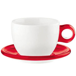 グッチーニ ラージコーヒーカップ 2客セット 2775.0065 レッド <RGTS404> RGTS404