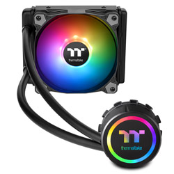 Thermaltake Water 3.0 120 ARGB Sync CL-W232-PL12SW-A (水冷一体型CPUクーラー/120mmモデル/500~1500rpm) CLW232PL12SWA