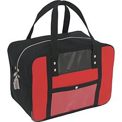 三栄産業 SANEI 帆布メール用ボストンMマチ広 SED-1錠付 赤  BTMDE-SED-02 BTMDESED02