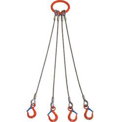 大洋製器工業 ワイヤスリング 5T×1.5 4WRS 5t用×1.5m 4本吊 4WRS5TX1.5