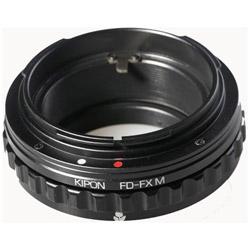 KIPON マウントアダプター FD-FX M【ボディ側:富士フイルムX/レンズ側:キヤノンFD】 FDFXM