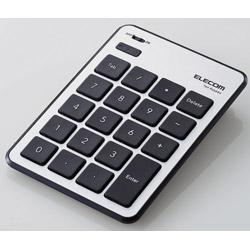 ELECOM 25%OFF エレコム TK-TBPM01SV Bluetoothテンキーボード 薄型 予約 パンタグラフ シルバー TKTBPM01SV MacOS対応