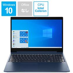 Lenovo(レノボジャパン) 81Y300J5JP ノートパソコン IdeaPad L350 アビスブルー [15.6型 /intel Celeron /SSD:256GB /メモリ:4GB /2020年6月モデル] 81Y300J5JP
