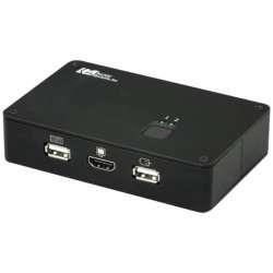 RATOC(ラトックシステム) REX-250UHD-4K パソコン切替器 [4Kディスプレイ/USBキーボード・マウス対応] REX250UHD4K