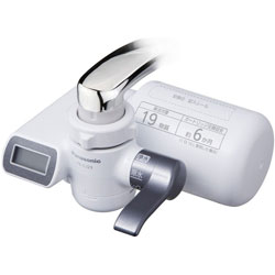 Panasonic 登場大人気アイテム パナソニック TK-CJ23 特別セール品 蛇口直結型浄水器 メタリックグレー TKCJ23H