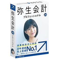 弥生 弥生会計 20 プロフェッショナル 通常版 <消費税改正対応> YRAN0001