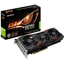 【在庫限り】 GIGABYTE(ギガバイト) グラフィックボード NVIDIA GeForce GTX 1070 PCI-Express GVN1070G18GDREV2C1 [振込不可]