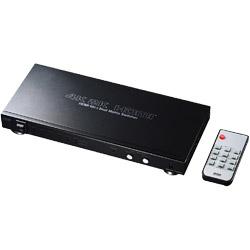 SANWA SUPPLY(サンワサプライ) HDMI切替器(6入力2出力・マトリックス切替機能付き) SWUHD62 SWUHD62