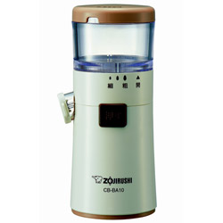 ZOJIRUSHI 象印マホービン ごますり器 正規店 乾電池式 CB-BA10 WA 新作送料無料 CB-BA10-WA ホワイト CBBA10
