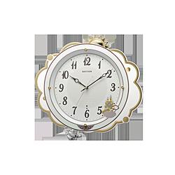 リズム時計 掛け時計 【ファンタジースカイM410】 白 8MN410SR03 [電波自動受信機能有] 8MN410SR03