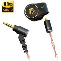 radius(ラディウス) イヤホン カナル型 ノワール ブラック HP-TWF32 [φ3.5mm ミニプラグ /ハイレゾ対応] HPTWF32K