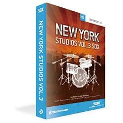 クリプトン・フューチャー TOONTRACK 〔Win・Mac版〕 SDX NEW YORK STUDIO VOL.3