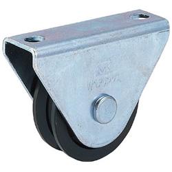 丸喜金属 枠付重量車 150mm V型 C1000150 C1000150