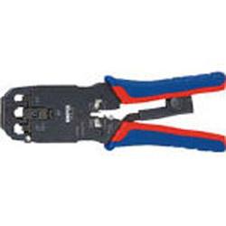 KNIPEX社 2867855 KNIPEX プラグ用圧着ペンチ 200mm 975112