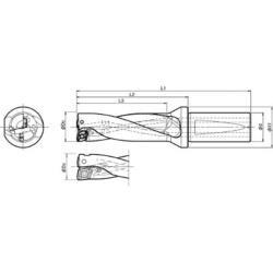 KYOCERA(京セラ) 京セラ ドリル用ホルダ S25-DRX190M-3-06 S25DRX190M306