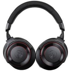 audio-technica(オーディオテクニカ) SOLID BASS(ブラックレッド)ATH-WS990BT BRD【リモコン・マイク対応】【ノイズキャンセリング対応】 ブルートゥースヘッドホン ATHWS990BTBRD