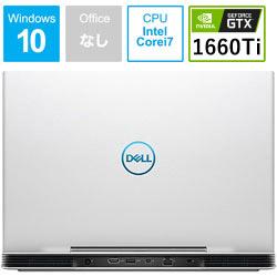 【在庫限り】 DELL(デル) ゲーミングノートPC Dell G5 15 5590 NG75VR-9NLCW ホワイト [Core i7・15.6インチ・メモリ 8GB・GTX 1660Ti] NG75VR9NLCW [振込不可]