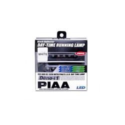 PIAA LEDデイタイムランプ 【Deno-i 1】 ホワイト6連 12V 2個入リ L-221W L221W