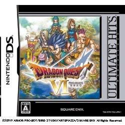 SQUARE ENIX スクウェア エニックス ULTIMATE HITS 幻の大地 ドラゴンクエストVI 信託 正規品 DSゲームソフト
