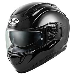 オージーケーカブト 584658 フルフェイスヘルメット KAMUI3 XS ブラックメタリック 584658