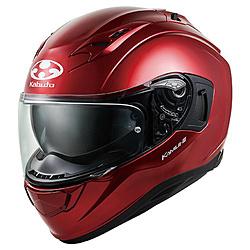 オージーケーカブト 584702 フルフェイスヘルメット KAMUI3 XS シャイニーレッド 584702