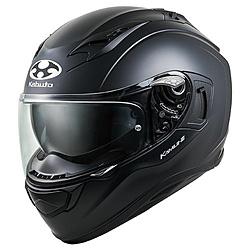 オージーケーカブト 584818 フルフェイスヘルメット KAMUI3 S フラットブラック 584818
