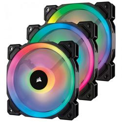 CORSAIR(コルセア) LL120 RGB 3 Fan Pack with Lighting Node PRO (CO-9050072-WW) CO-9050072-WW