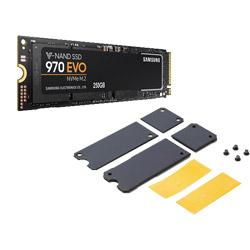 【在庫限り】 SAMSUNG(サムスン) NVMe SSD 970 EVO M.2 250GB ヒートシンク付 MZ-V7E250B/HS (SSD/M.2 2280/250GB) MZV7E250BHS [振込不可]