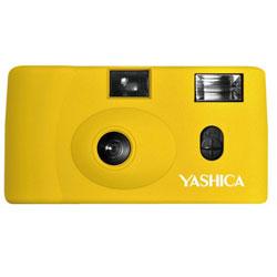 YASHICA 【フィルムカメラ】YASHICA MF-1 Camera Yellow with Yashica 400 イエロー MF1 [振込不可]