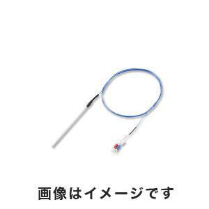 【アズワン AS ONE】K熱電対(シース型・テフロン(R)被覆) M4Y端子タイプ 150mm 3-6633-03 DS-2010-150