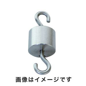 【サンポー】特殊分銅 円筒型上下フック付 500g 3-8488-06