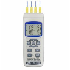 【マザーツール MT】データロガー温度計(4チャンネル) (熱電対最大4CH) 1-1450-01 TM-947SD