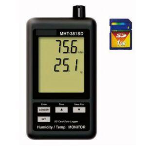 【マザーツール MT】データロガデジタル温・湿度計 1-2517-01 MHT-381SD