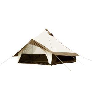 【小川キャンパル Ogawa】ベル型テント Glole12 T/C(グロッケ12 T/C) 5~6人用 2785