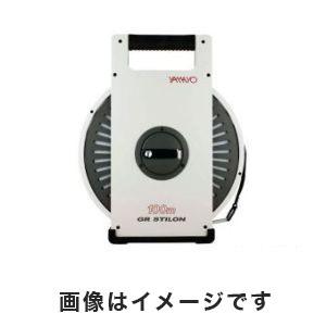 【ヤマヨ測定機】ヤマヨ測定機 ナイロンコート鋼製巻尺 GR STILON 3-9877-02 NR100GR