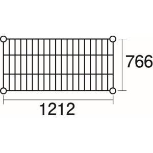 【エレクター ERECTA】エレクター ERECTA 棚板 3-4067-02 LMS1220