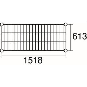 【エレクター ERECTA】エレクター ERECTA 棚板 3-328-06 LS1520