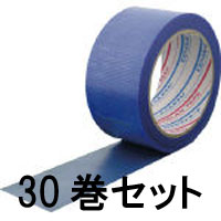 【ダイヤテックス DIATEX】パイオラン微粘着養生テープ ブルー 50mmX25m 厚さ0.16mm 【30巻】 Y-03-BL