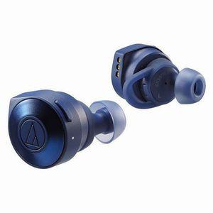 送料無料!!【オーディオテクニカ(audio-technica)】SOLID BASS ATH-CKS5TW BL(ブルー)Bluetooth対応ワイヤレスヘッドホン【smtb-u】
