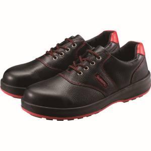 送料無料!!【シモン Simon】シモン 安全靴 短靴 SL11-R黒/赤 23.5cm SL11R-23.5【smtb-u】