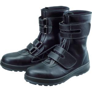 【シモン Simon】シモン Simon 安全靴 長編上靴 マジック WS38黒 24.5cm WS38-24.5