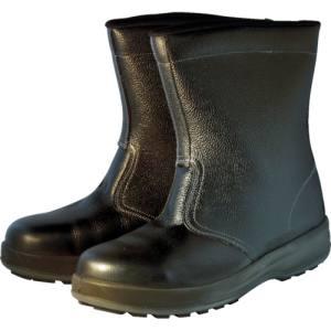 【シモン Simon】シモン 安全靴 半長靴 WS44黒 25.0cm WS44BK-25.0