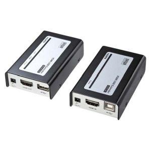 【サンワサプライ SANWA SUPPLY】HDMI+USB2.0エクステンダー VGA-EXHDU
