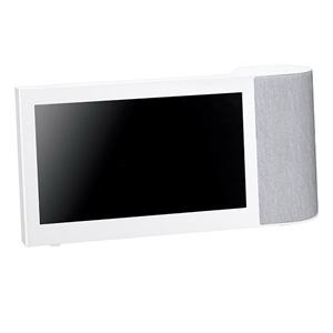 【パナソニック Panasonic】モニター付きワイヤレススピーカーシステム SC-VA1-W(ホワイト)