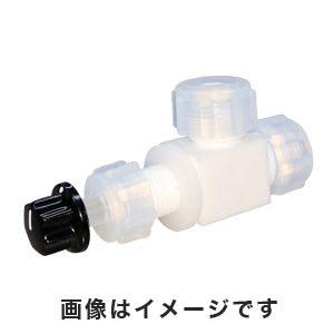 【ケミカル化工】ケミカル化工 アズフロン(R)ニードルバルブ直角型 7-278-02 LN-8