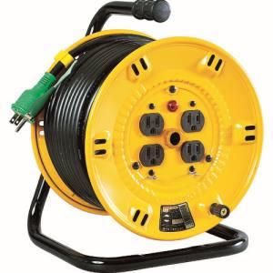 【アズワン AS ONE】アズワン AS ONE 標準型電工ドラム(屋内型) アース付き(3P) 1-3681-02 NP-E34